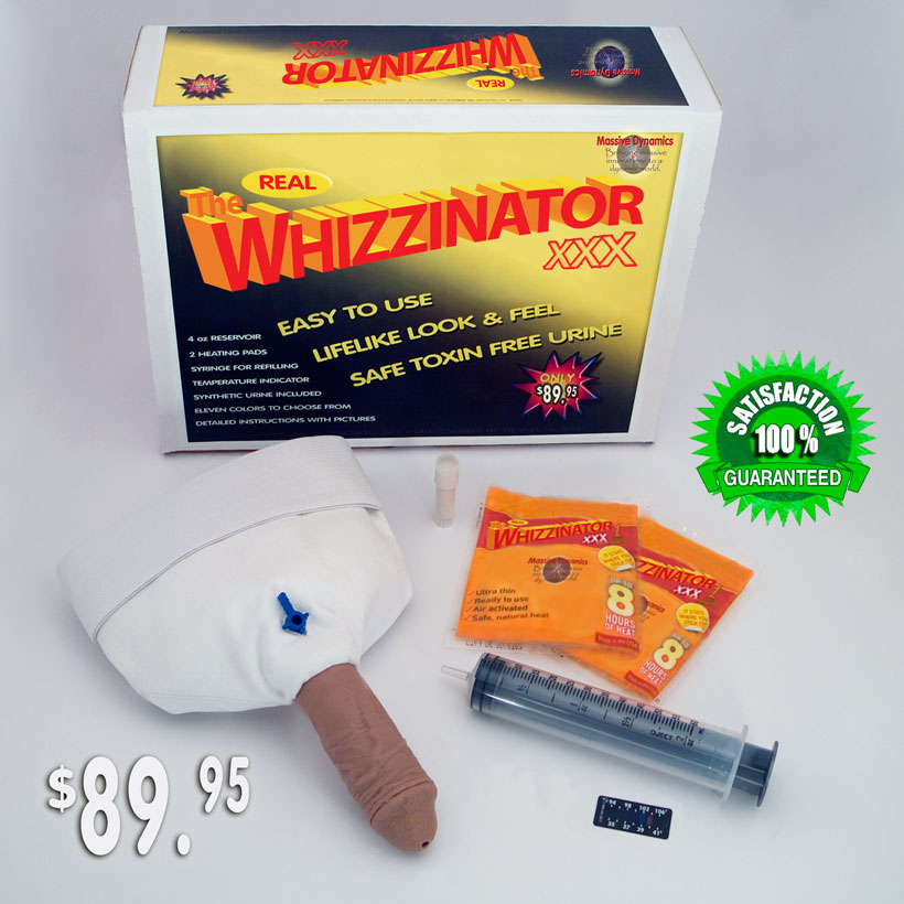 Official site of the real Whizzinator XXX - Free synthetic